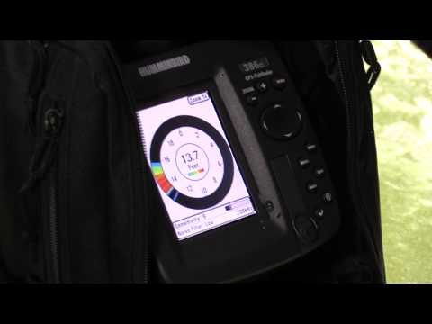 humminbird 386ci ice fishing - youtube, Fish Finder