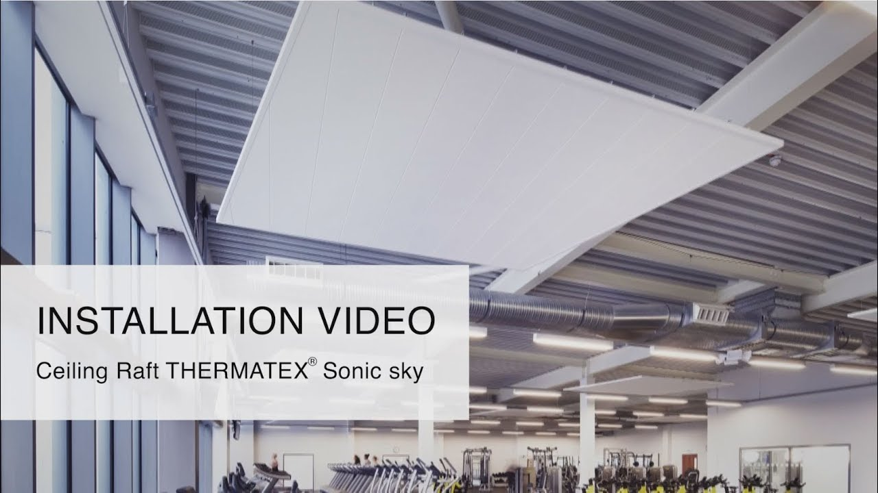 Installation video ceiling raft thermatex sonic sky from knauf installation video ceiling raft thermatex sonic sky from knauf amf dailygadgetfo Choice Image