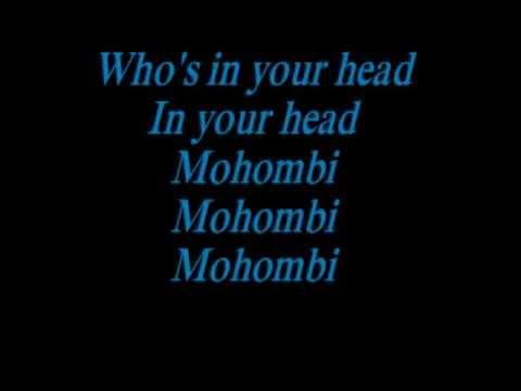 Mohombi-In your head lyrics