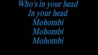Mohombi-In your head lyrics