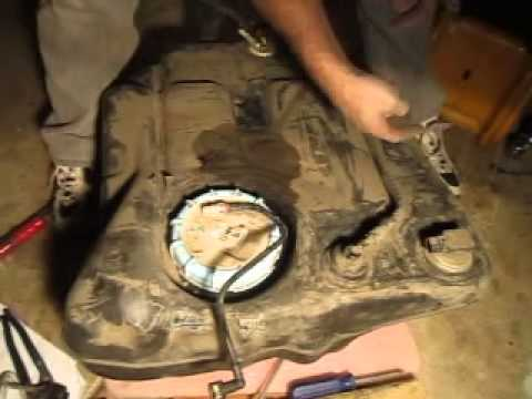 Ford Focus 2001 Fuel pump replacement part 6  YouTube