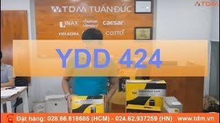 TDM.VN | Đập hộp khóa điện tử Yale YDD 424 vân tay loại Rim Lock giá tốt
