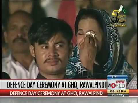 Yaaro Mera Yaar Na Raha Song in GHQ Ceremony Defense Day Segment 0 xvid 002