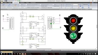 tutorial semforo en ladder plc y hmi en automation studio
