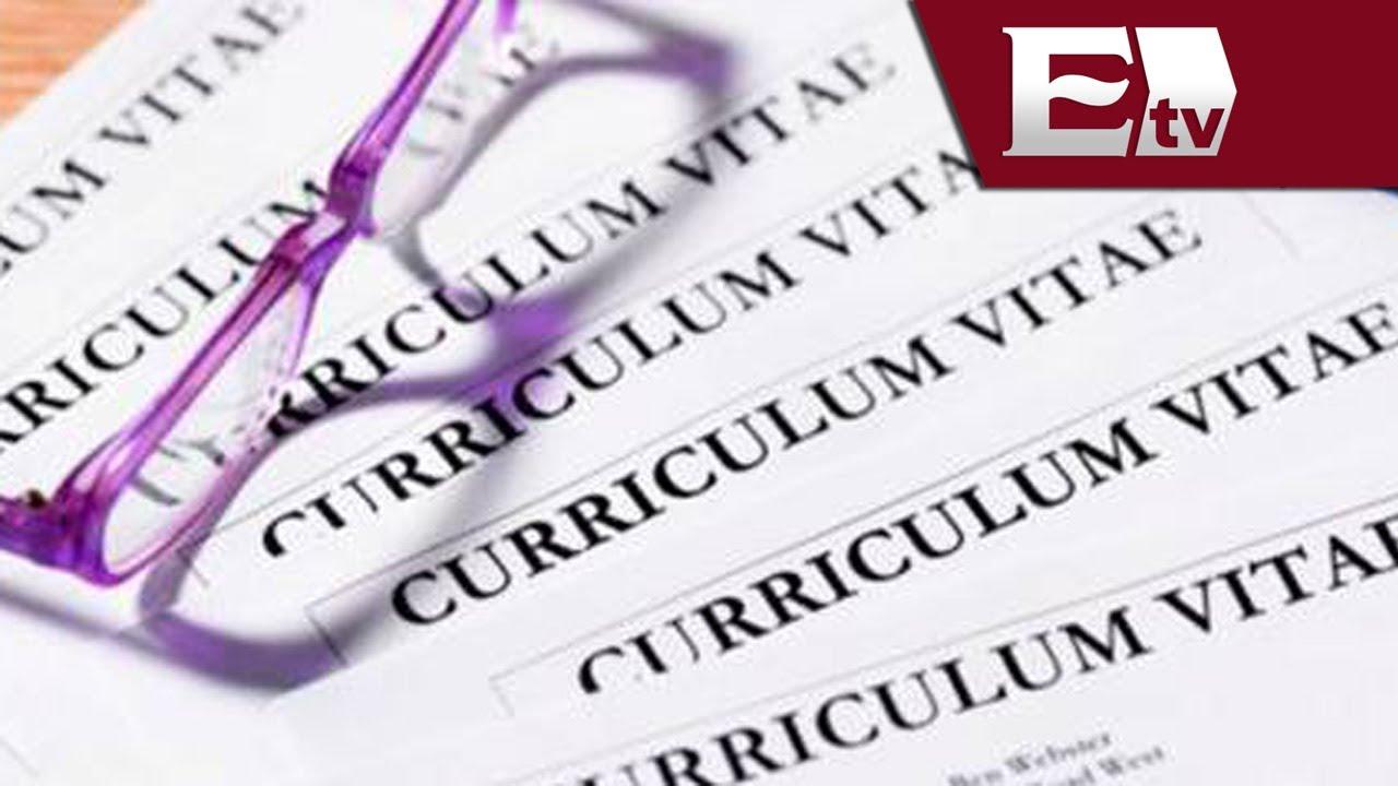 Cómo elaborar de forma eficiente un curriculum vitae?/ Dinero David ...