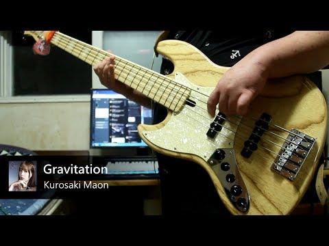 [HD] Kurosaki Maon - Gravitation (To Aru Majutsu no Index III OP) (Bass Cover.)