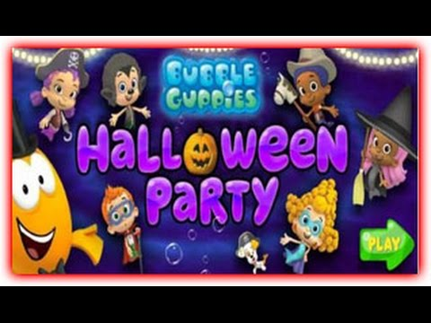 Bubble Guppies Halloween Party Game - YouTube