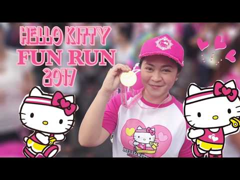 Hello Kitty Fun Run Manila 2017❣️