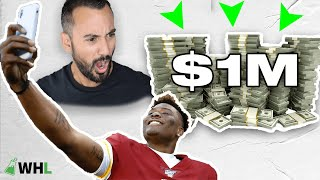 How Dwayne Haskins Spends First $1,000,000 (financial planner reacts GQ Sports)