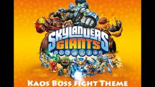 Skylander Giants - Final Boss Fight Music (Bringing Order to Kaos theme)