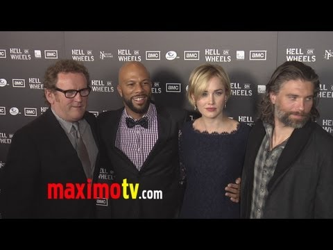 """Hell on Wheels"" Premiere Arrivals with Rapper Common"