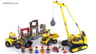 Lego City Demolition Site Review! Set 60076
