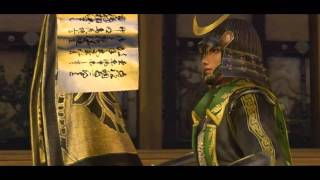 Samurai Warriors 3 - Masamune Date All CG Cutscenes in English (HD)