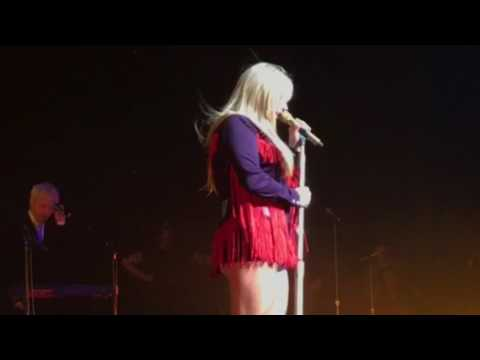Kesha talks about her new music for release at Foxwoods CT concert 2-15-17