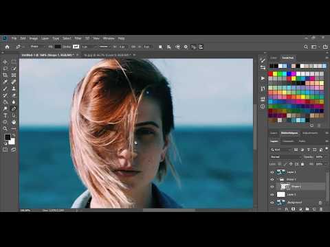 [ Photoshop Tutorial ] Vector Vexel Potrait - SPEED ART thumbnail