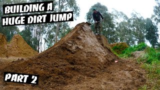 How Big is this Dirt Jump?!