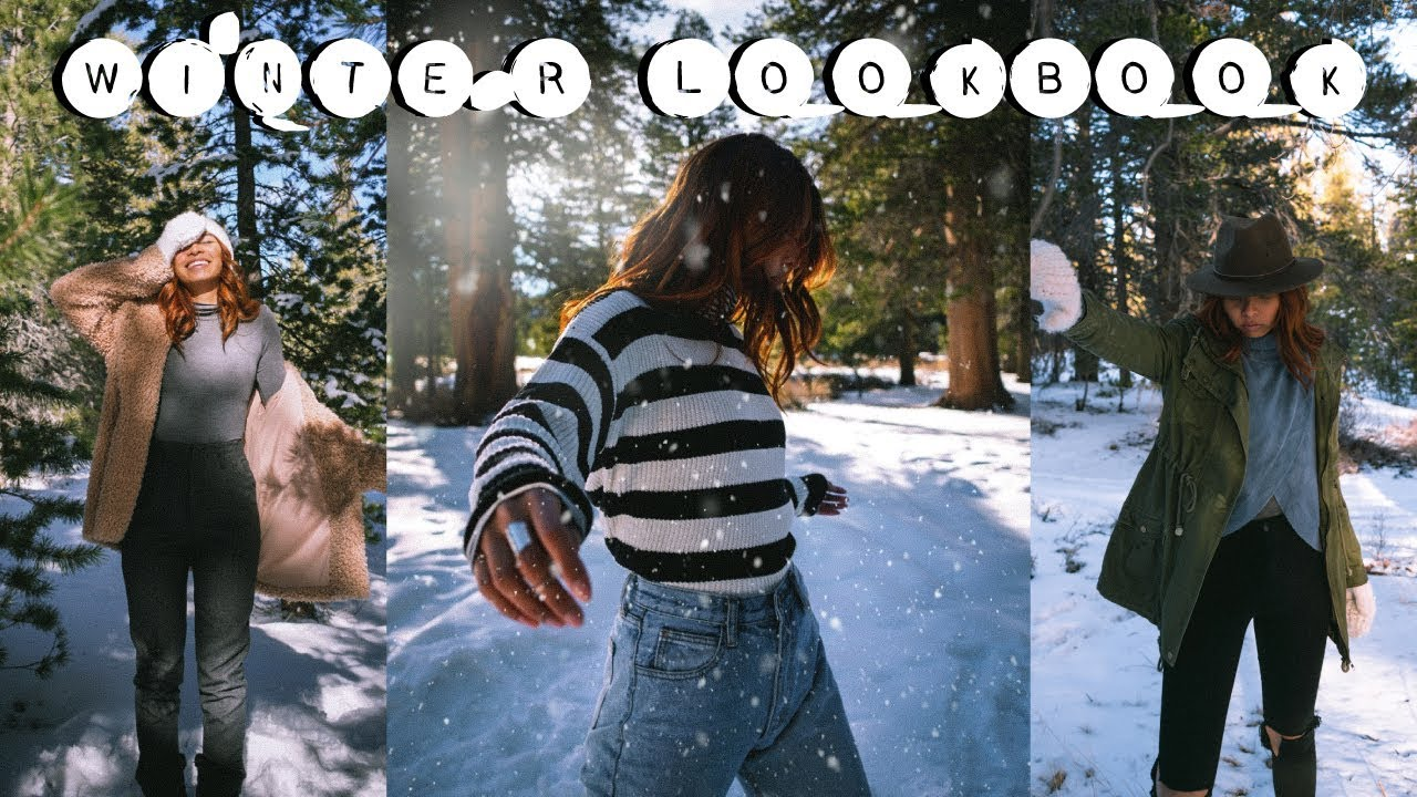 [VIDEO] - Winter Lookbook // What I Wore To The Snow 2