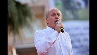 Cumhurbaşkanı adayı Muharrem İnce'nin İzmir mitingi - 21 Haziran 2018