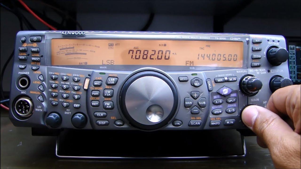 ALPHA TELECOM: KENWOOD TS-2000 PERDEU COMPLETAMENTE A SENSIBILIDADE EM HF