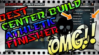 NBA 2K17: HOW TO MAKE THE BEST Athletic Finisher Center & Power Forward