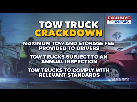 Tow Truck Crackdown | 9 News Perth