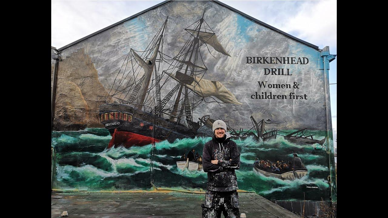 HMS Birkenhead Mural
