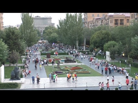 Yerevan, 07.08.18, Tu, Video-2, Kaskad, Handipum