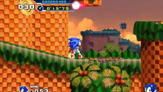 Sonic The Hedgehog 4 Episode 1 Gameplay (PC)