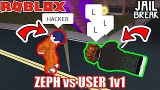 ZEPHPLAYZ vs MYUSERNAMESTHIS 1v1 sfida | Roblox Jailbreak