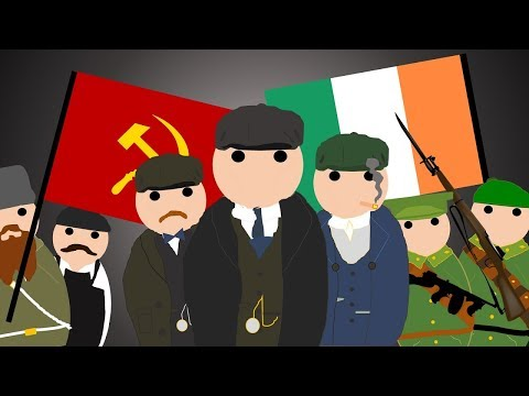 The History of Peaky Blinders - Communists, IRA, 1920's Gangs, The Italian Mafia and More!
