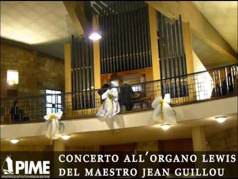 Concerto del M° Jean Guillou alla chiesa della casa natale di papa Giovanni XXIII
