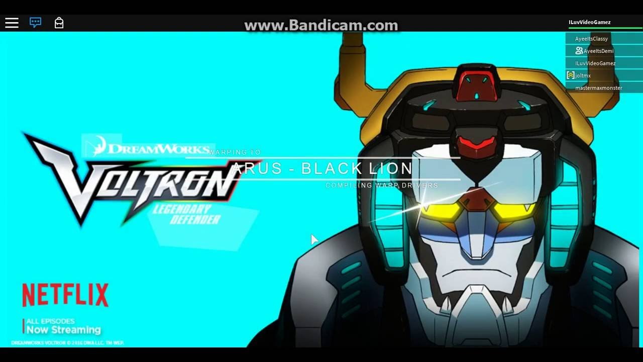 Voltron - Black Lion - YouTube
