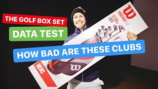 HOW BAD ARE THESE GOLF CLUBS THE GOLF BOX SET TEST