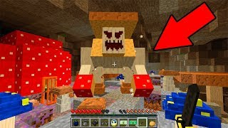 Гриб Мутант в Грибной Пещере под Домом! Секретная Школа в Майнкрафт