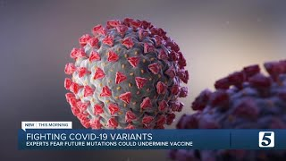 Some COVID-19 mutations may dampen vaccine effectiveness