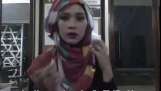 Tutorial Jilbab Pashmina Untuk Pesta Zaskia Adya Mecca