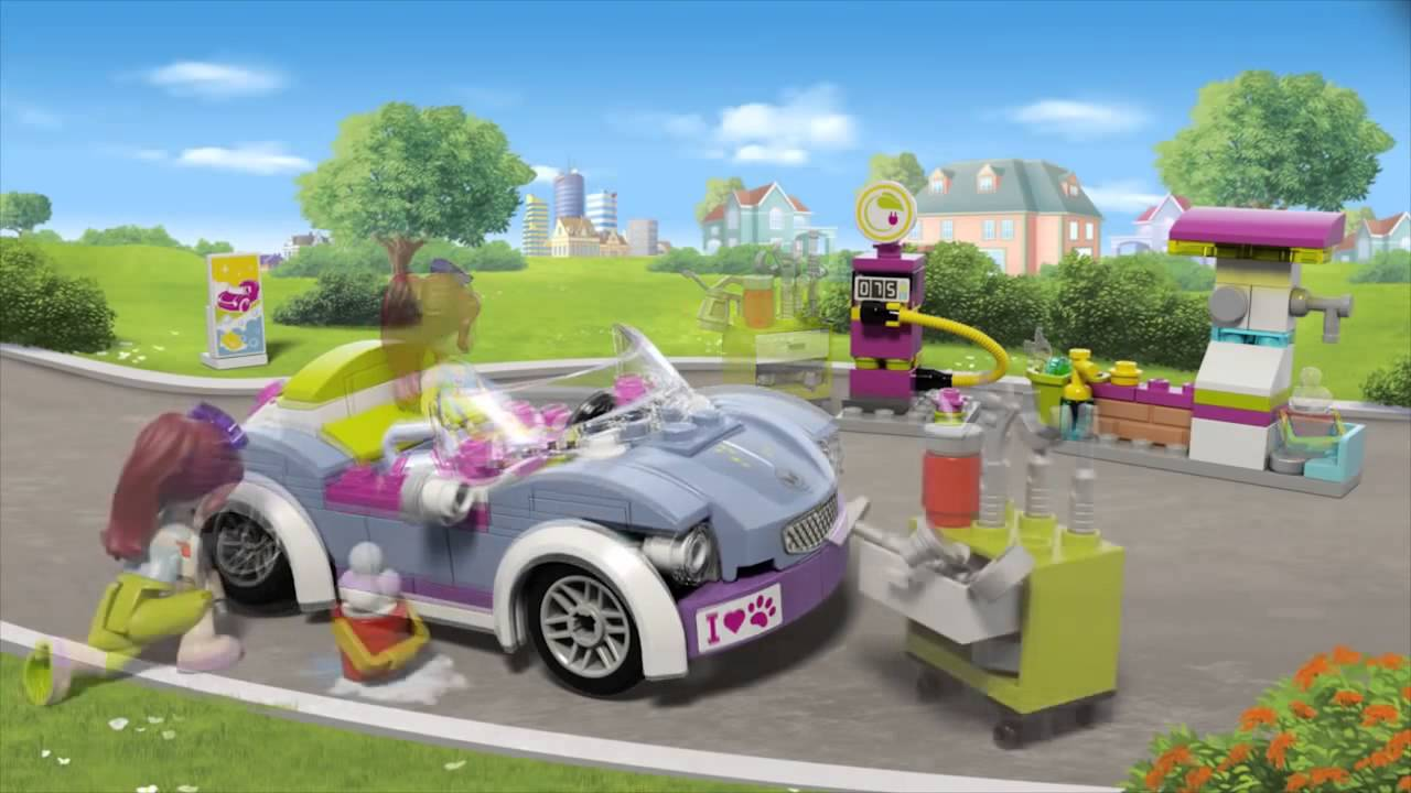 Lego Friends Kabriolet Mii 41091 Youtube
