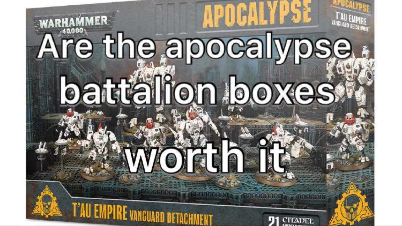 Thoughts on the Apocalypse Battalion boxes