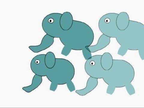 童謡アニメ「ぞうさん」 自作のへっぽこ変なflashアニメ
