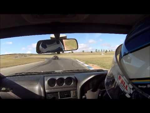 Nissan Skyline R34 GTT 1:13 Wakefield Park Raceway track day