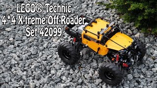Ausprobiert: LEGO Technic 4×4 X-treme Off-Roader (Set 42099) deutsch