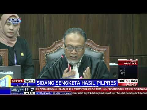 Bambang Widjojanto Cecar Saksi Ahli TKN Jokowi-Ma'ruf