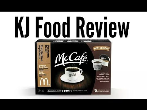 KJ Food Review: New McCafé Keurig K-cups Coffee