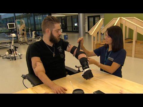 Afghanistan veteran debuts double arm transplant