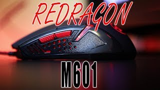 Best Affordable Gaming Mouse - Red Dragon M601 - 2018 Gaming Mouse Review