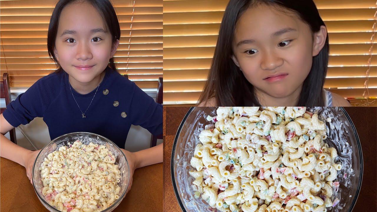 Does Janet Like Kate's Homemade Macaroni Salad?