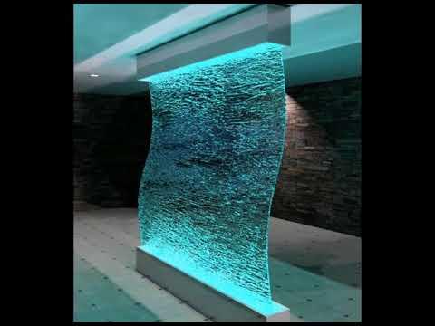 Innen Wasserfall Wand Ideen Youtube