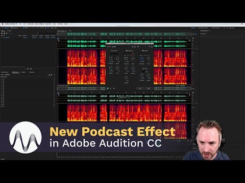 The Best New Effect for Podcasting in Adobe Audtion CC 2018