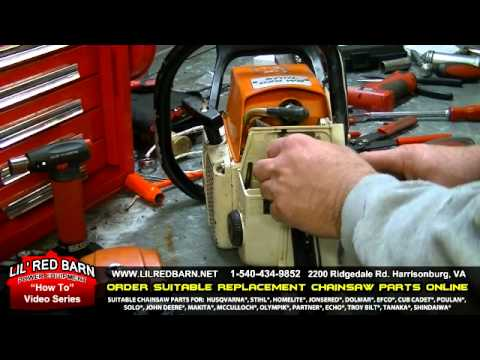 How To Replace A Carburetor In A Stihl 028 Youtube