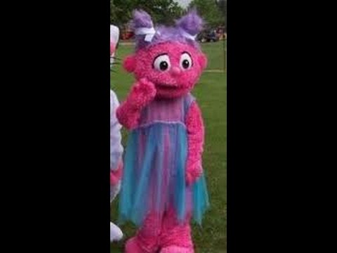 Sesame Street Mascot Rentals Kids Birthday Party Costume Characters Elmo Abby Cadabby Cookie Monster
